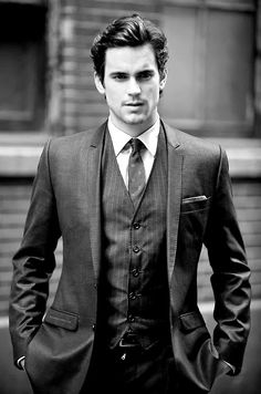 The things I would do for a well dressed man.