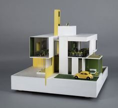 These Modern Doll Houses were Created by Architects for Charity trendhunter.com