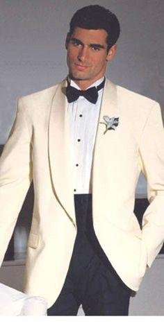 tuxedo men white | Details about New Hardwick Winter White Shawl Tuxedo & Black Tux Pant