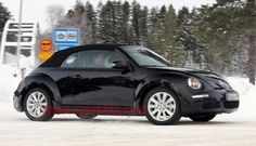 VW Beetle 2013 - How do you make the hot-selling Volkswagen Beetle even hotter? Chop the top! #cars #automobiles #volkswagen