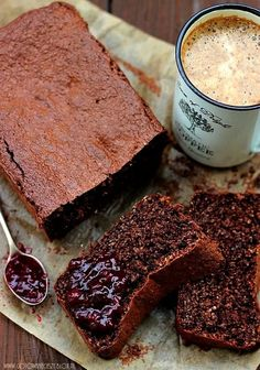 Chocolate bread! Different language but easy to translate with the Internet !!