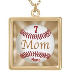 """Baseball Mom Jewelry with Child's NUMBER and NAME typed into text boxes beneath """"Personalize it"""" to the right of each Baseball Mom Necklace. Baseball Stuff and more Custom and Personalized Baseball Gifts for Men, Women, Boys, Girls and Babies.  See ALL Baseball Stuff CLICK HERE: http://www.zazzle.com/littlelindapinda/gifts?cg=196556138924326857&rf=238147997806552929*/   ALL of Little Linda Pinda Designs CLICK HERE: http://www.Zazzle.com/LittleLindaPinda*/"""