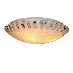 16 inch Retro Tiffany Ceiling Lamp /Shell Shade Flush Mount Living Room Dining Room light Fixture - USD $110.59 ! HOT Product! A hot product at an incredible low price is now on sale! Come check it out along with other items like this. Get great discounts, earn Rewards and much more each time you shop with us!