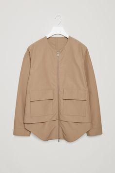 COS | Celebrating 10 years | Technical cotton-mix jacket