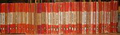 Image: collection of old Penguin Books.  www.judithmackin.ca/blog