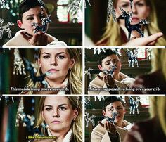 Snow and Emma :) hahahahha this scene