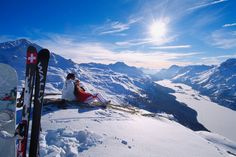 St. Moritz, Switzerland - Winter Paradise Destination ~ Tourist Destinations