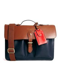 Ted Baker Montena Colour Block Leather Satchel