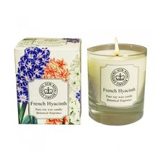 Kew French Hyacinth Candle Available from Bestow - Delivery throughout  New Zealand