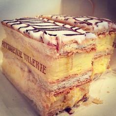 Custard Slice - Patisserie Valerie