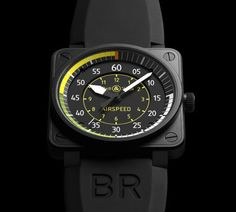 BR 01-92 Airspeed : décollage imminent avec Bell & Ross