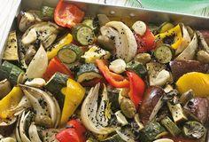 Ratatouille-Gemüse vom Blech   Einfach Lecker - Rezeptideen für jeden Tag