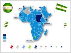 África mapas ppt