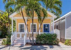 Key West Properties: 1117 Watson Street - Key West - Conch Grove Compound - A Singular Sensation Beach Cottage Exterior, Beach Cottage Style, Beach Cottage Decor, Coastal Cottage, Coastal Style, Coastal Decor, Key West Cottage, Key West House, Key West Style