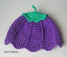Flower Fairy Crochet Baby Hat/Beanie Pattern by DollBabiesReborns