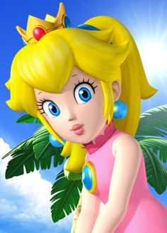 Princess Peach - Tropical Golf by on DeviantArt Super Mario Princess, Mario And Princess Peach, Nintendo Princess, Princess Daisy, Little Princess, Super Mario Bros, Super Mario Brothers, Mario Kart, Mario And Luigi
