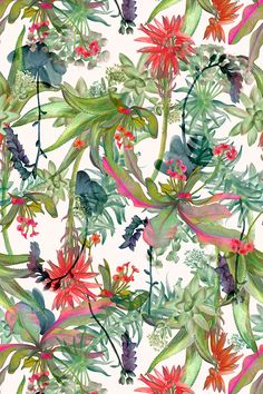 Textile design by Shelley Steer