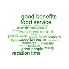 Why choose Sodexo?  Here are a few good reasons!