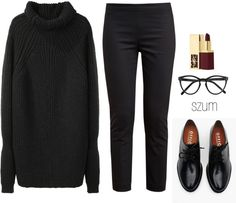 229 by szum on Polyvore featuring 3.1 Phillip Lim, The Row, Brixton, Selima Optique and Yves Saint Laurent