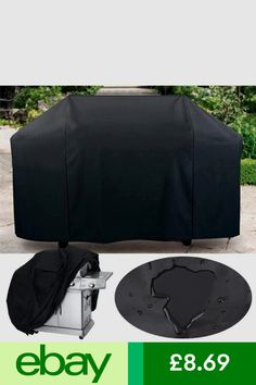 Barbecue & Grill Covers Yard, Garden & Outdoor Living Ingenious Black Bbq Protector Waterproof Dustproof Gas Grill Barbecue Cover Suit Outdoor