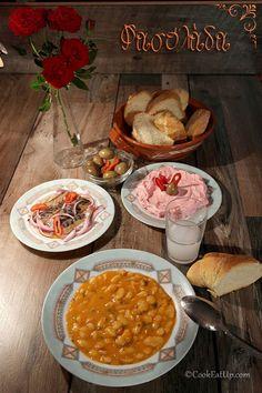 Συνταγή: Φασολάδα η πατροπαράδωτη, χωρίς μούλιασμα ⋆ CookEatUp Mediterranean Recipes, Chana Masala, Cooking Tips, Curry, Vegetarian, Vegan, Ethnic Recipes, Lent, Foods