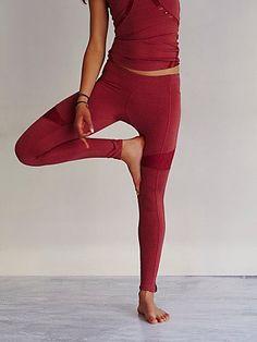 Free People Lace Mix Yoga Pant #fpmovement