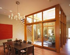 Interesting. An interior atrium within your home. If you've got a huge space, it can bring in light.