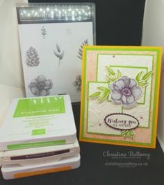 InspireINK Blog Hop – Tic Tac Toe – Christine's Crafting by Christine Bettany