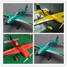 New colour schemes Model plane MXS-R 64″ 20cc Gas 6 Channels ARF RC Airplane