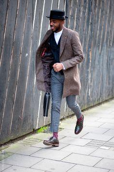 True sense of style.  #menswear #fashion #streetstyle