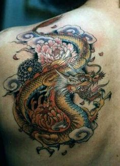 My dragon inspiration for inner thigh tattoo