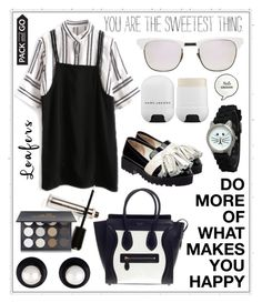 """Untitled #337"" by meryflower ❤ liked on Polyvore featuring Anouki, M2BEAUTÉ, CÉLINE, Shany, Olivia Pratt, Westward Leaning, Marc Jacobs, loafers, polyvorecontest and laborday"
