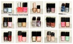 The Beauty Look Book: Nail Polish Styling: How Do You Coordinate Colors?