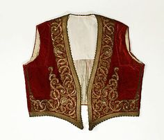 Vest, 19th Century Greek