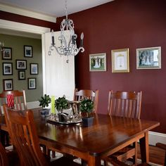 1000 images about accent paint colors on pinterest for Burgundy dining room ideas