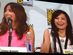 """On Ward being Hydra: """"You just kissed him. I slept with him!"""" - @mingna #agentsofshield #sdcc pic.twitter.com/yjXV5aHRJS"""