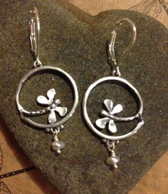 Handmade Dragonfly Earrings - Sterling Silver or 14k Gold – All Animal Jewelry