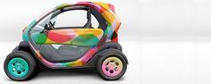 Renault Twizy electric car