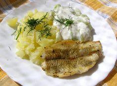 W Mojej Kuchni Lubię.. : flądra na maśle na obiad szybki...
