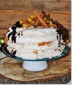 Meringue Pavlova, Christmas Recipes, Cake, Desserts, Foods, Tailgate Desserts, Food Food, Deserts, Food Items