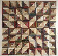 Would love to know who made this! It's stunning! By far my favorite Log Cabin Quilt!