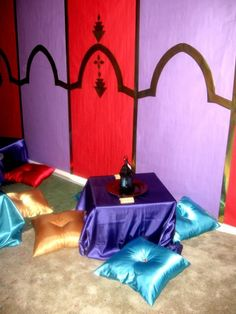 'Party Of The Year' Contest WINNER! Aladdin, Ali Baba Genie Party - Kara's Party Ideas - The Place for All Things Party