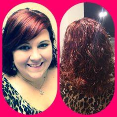 Red hair:)!!