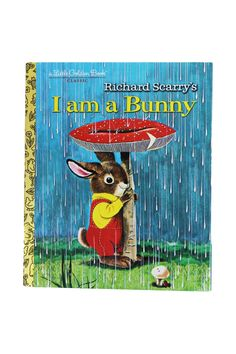 This classic Golden Book, illustrated by Richard Scarry, is the story of Nicholas, a bunny clad in red overalls. In the spring, he picks flowers, and in the summer, watches the frogs in the pond. In t