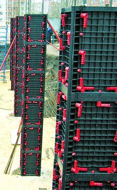 Encofrados de plástico reutilizables, otra opción de obra