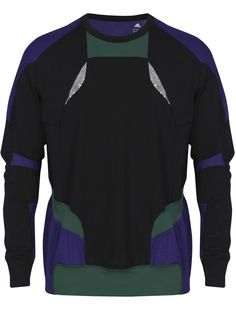 newest 98e54 6eb4d Adidas Originals Adidas by Kolor Hybrid Black   Purple Long sleeve T-shirt Adidas  Originals