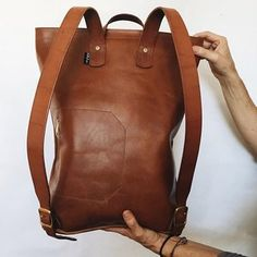 Road Tripper Backpack in tan.