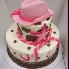 cowgirl cake | Cowgirl cake | Kaylea Party Ideas