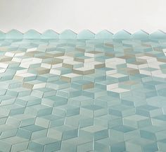 Mint Tiles by Raw Edges