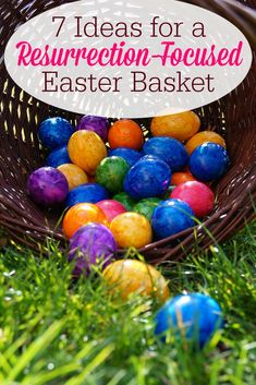 35 christian themed easter basket ideas easter baskets easter 7 ideas for a resurrection focused easter basket negle Image collections
